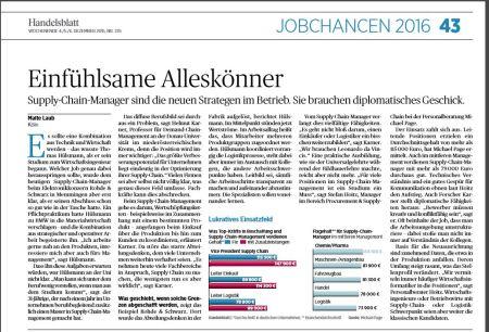 Handelsblatt SCM